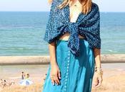 blue falda noventera