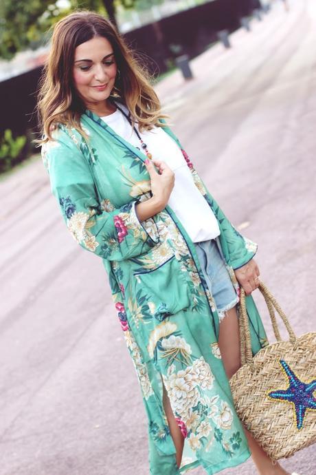 kimono largo Paperblog