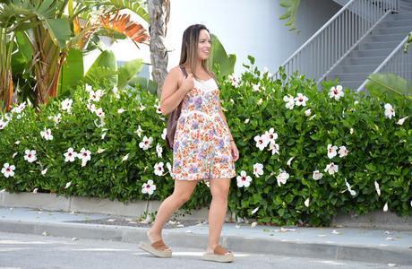 Outfit | Floral jumpsuit