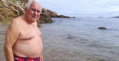 La terapia de un empresario de 89 años, arruinado y con la pensión embargada.