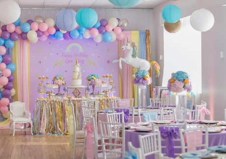 10 Ideas Para Un Baby Shower De Unicornio Paperblog