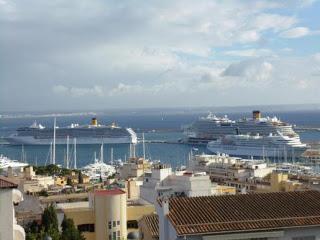 Cruceros contaminantes.