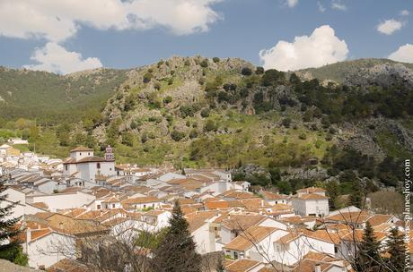 Sierra Grazalema pueblo blanco Andalucia