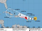 Huracán Irma impactará Puerto Rico miércoles jueves República Dominicana.