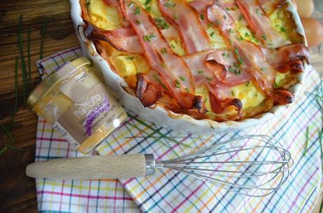 las delicias de mayte; Tarta de calabacín con crema de queso con pimientos del piquillo y beicon, tartas saladas, tartas saladas de hojaldre, rellenos para tastas saladas, recetas de tartas saladas, recetas de tartas saladas fáciles y económicas, recetas de tartas saladas utilísima, tartas saladas rápidas y fáciles, tartas saladas fáciles, recetas tartas saladas de verduras,;