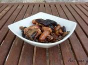 Setas ajillo salchichas (tradicional Crock-Pot)