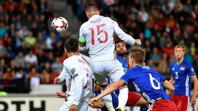 Liechtenstein vs España 0-8 , otro puntazo
