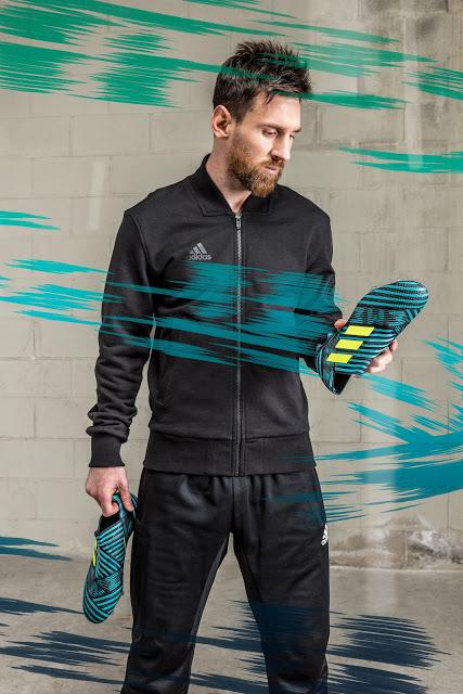 adidas fútbol lanza la más reciente colección Ocean Storm con sus modelos ACE 17, X17 y NEMEZIZ17