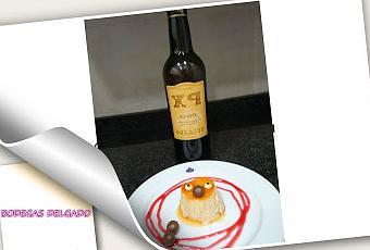 Flan de vino dulce pedro ximenez con bodegas delgado paperblog - Vino de pedro ximenez para cocinar ...