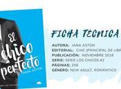 Reseña: CHICO PERFECTO Jana Aston (Serie chicos