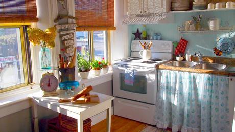 Cocinas sin muebles de cocina - Paperblog