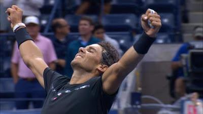 Rafa Nadal vence a Del Potro  ya en final de USOpen