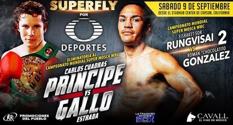 Juan Francisco Estrada vs Carlos Cuadras en Vivo – Box – Sábado 9 de Septiembre del 2017