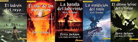 5 razones para leer... Saga Percy Jackson