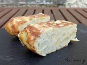 Tortilla calabacín patata (tradicional Thermomix)