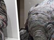 increíbles esculturas Chie Hitotsuyama