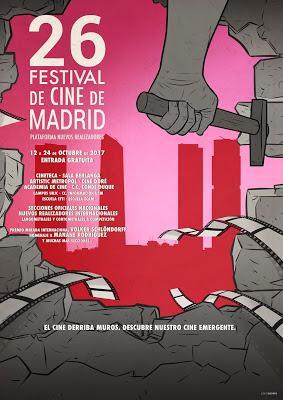 El próximo miércoles 13 de septiembre se presenta la 26ª edición del Festival de Cine de Madrid FCM-PNR