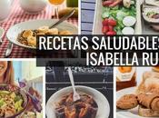 mejores recetas saludables Isabella Russo eres