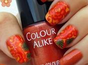 RETO COLORES (Naranja): Flores ND106