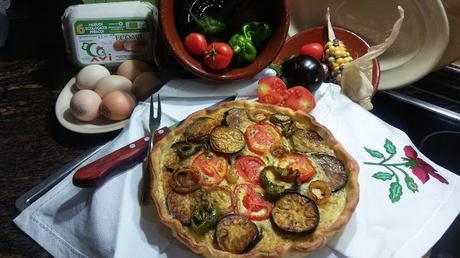 Quiche de Verduras (100% casera y ecológica)