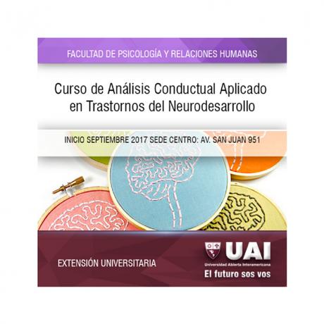 Curso de Análisis Conductual Aplicado (ABA) en trastornos del neurodesarrollo