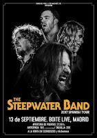 Concierto de The Steepwater band en Boite Live