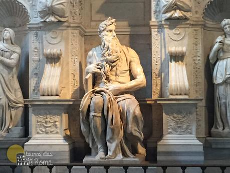 Estatua de Moisés de Miguel Ángel