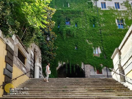 Escalinata iglesia San Pietro in Vincoli