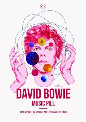Conciertos e ilustraciones en Madrid para conmemorar los 40 años del 'Heroes' de David Bowie