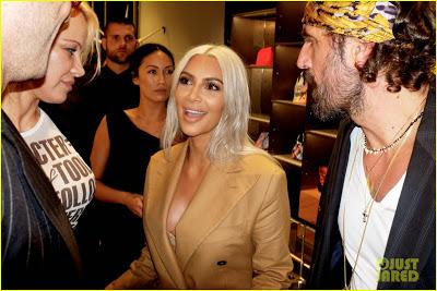 Kim Kardashian vuelve a llamar la atención