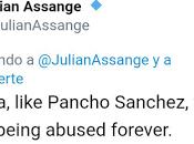 Assange tiene menos cultura general Pancho Sánchez