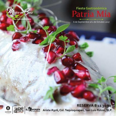 Invitan a la fiesta gastronómica Patria Mía