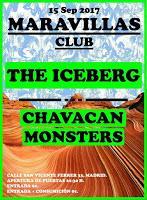 Concierto de The Iceberg y Chavacan Monsters en Maravillas Club