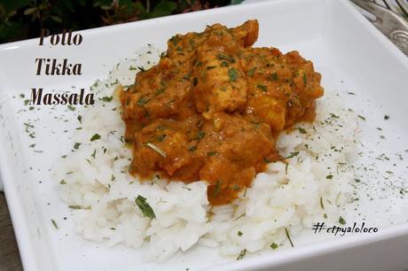 Pollo Tikka Massala