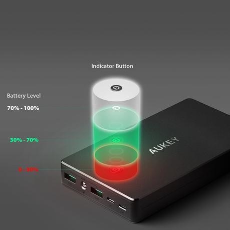 Review: Oferta batería externa Aukey 20000mAh –lo bueno y lo malo-