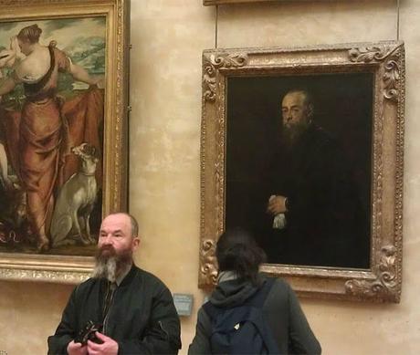10 increíbles retratos en museos que casualmente eran idénticos a sus visitantes