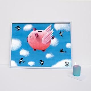 Làmina Porquet Volador / Lámina Porquet Volador
