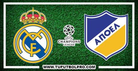 Ver Real Madrid vs Apoel EN VIVO Por Internet Hoy 13 de Septiembre 2017