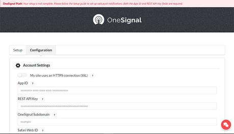 Configurar Notificaciones push en WordPress con OneSignal