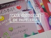 Caja sorpresa papelería LissAngel