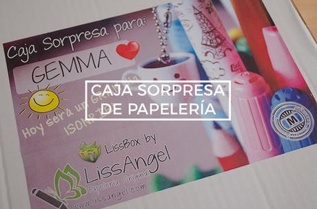 Caja sorpresa de papelería LissAngel