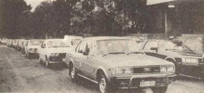 La producción del Toyota Corona