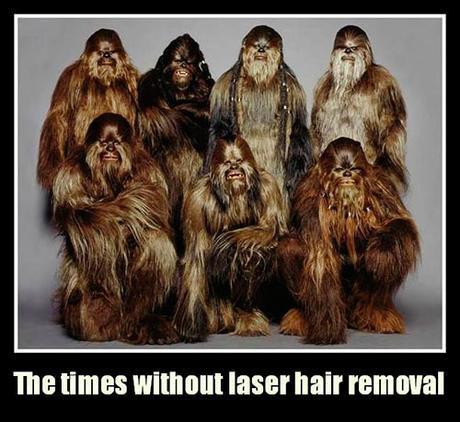 Mujeres antes de la depilación láser