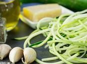 Receta espaguetis calabacín ajillo