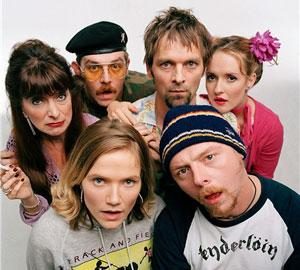 el elenco de Spaced