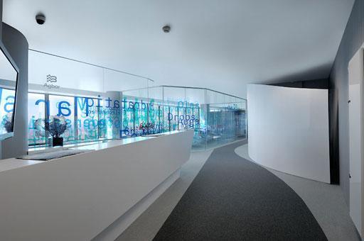 Oficinas agbar en torre de cristal madrid paperblog for Oficina mutua madrilena