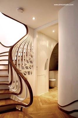 escalera interior de diseo