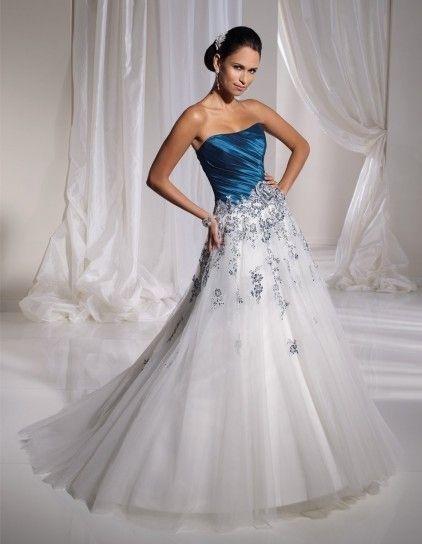 vestidos de novia de jeans - paperblog