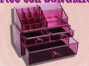 ¡SORTEO Organizador Maquillaje SONGMICS!