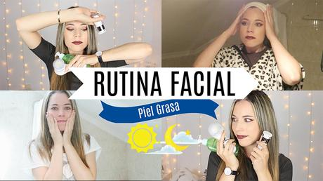RUTINA FACIAL DIARIA PIEL GRASA│BEAUTY SANDS